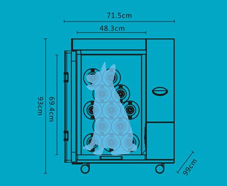 宠物护理室U1S尺寸图