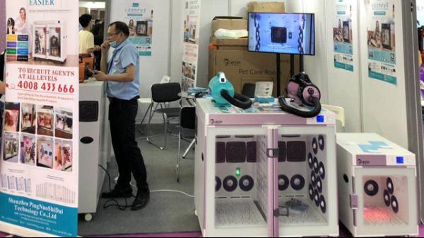 2020深圳国际宠物展丨欧科达UKDA宠物烘干机展位再掀人潮