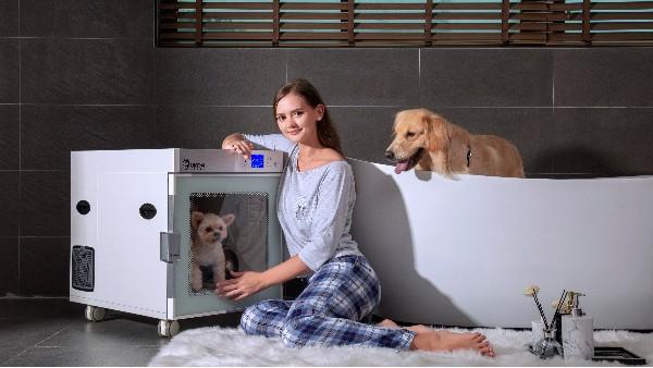 还在为给宠物吹毛发愁?看看欧科达宠物烘干机吧,很多铲屎官都种草了