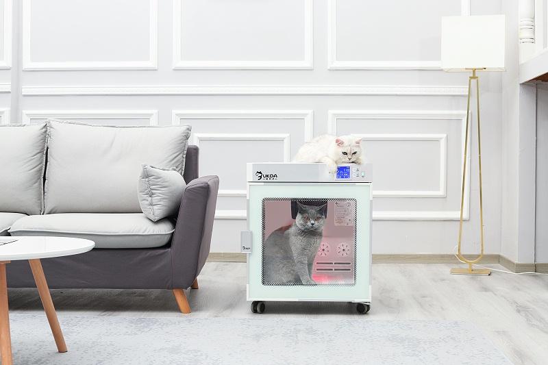 【新品上市】360°出风的宠物烘干箱,舒适静音,解放双手!