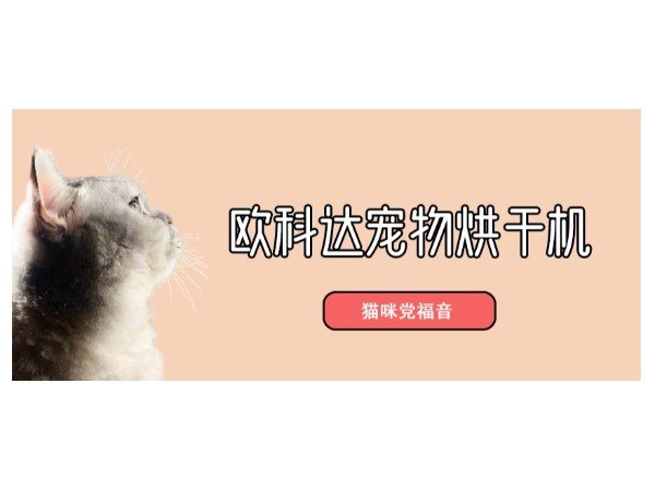 推荐一款好用的宠物烘干箱-欧科达