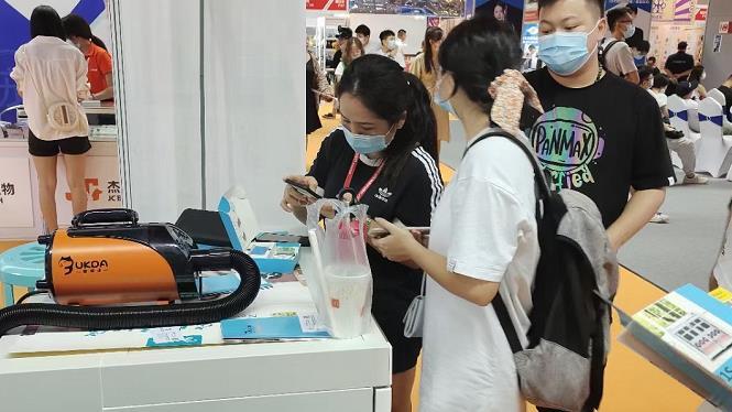 第六届广州国际宠物会 欧科达宠物烘干机