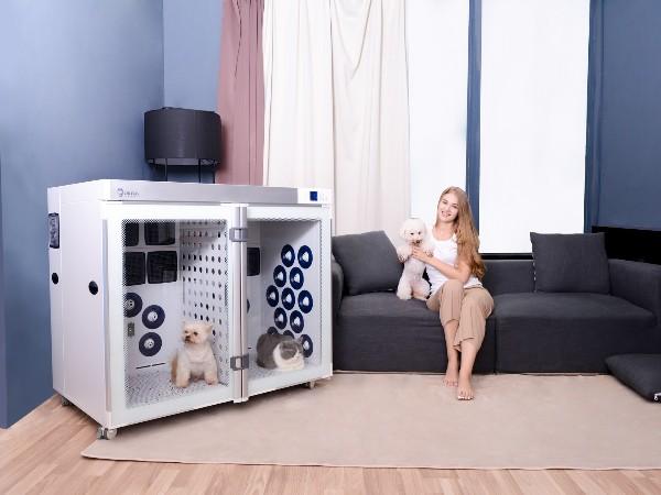 欧科达宠物烘干机——负离子呵护宠物毛发