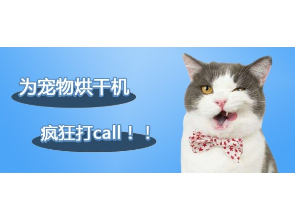 为欧科达宠物烘干机,疯狂打call!!!
