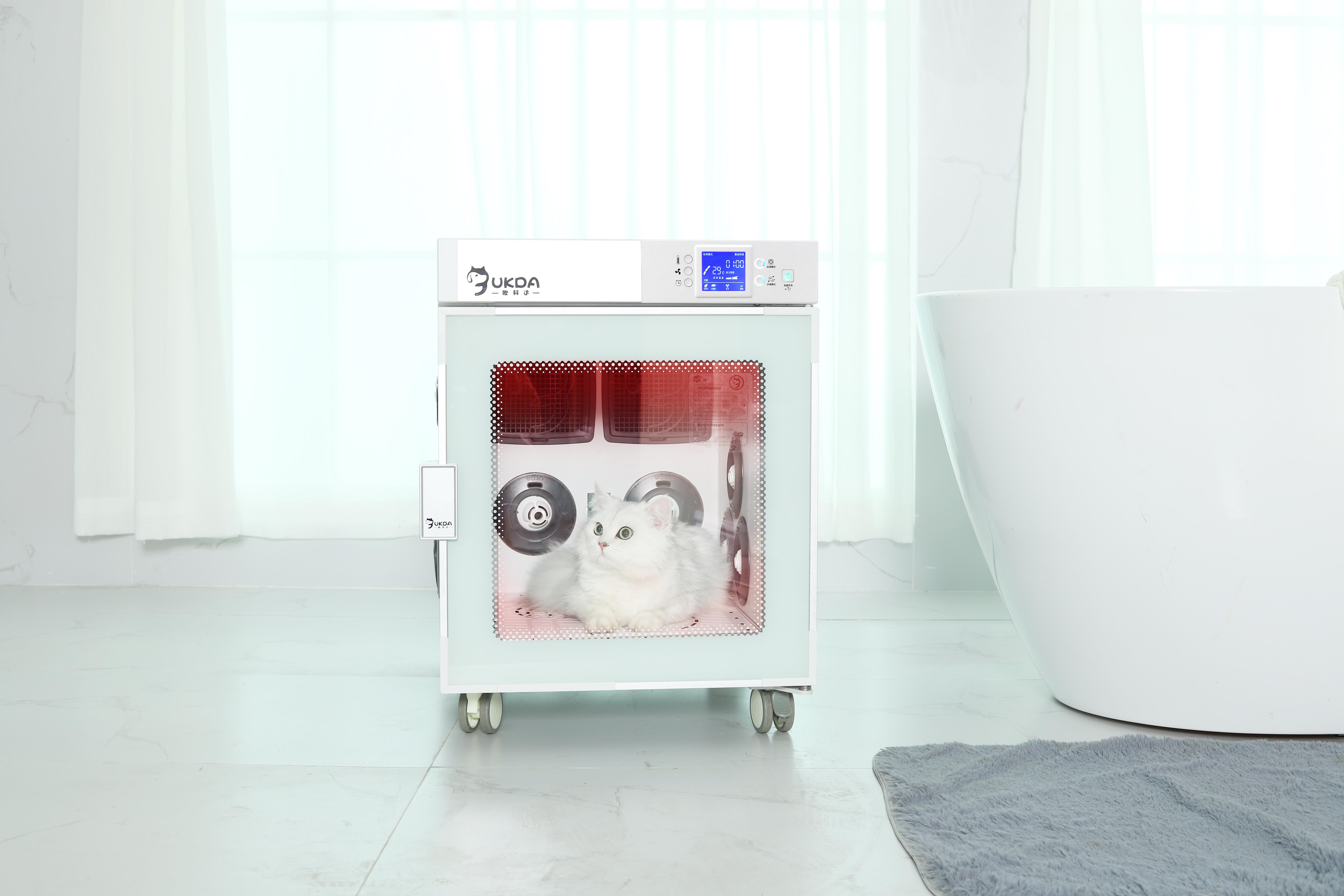 省电声音轻!欧科达宠物烘干箱,养宠必备神器!