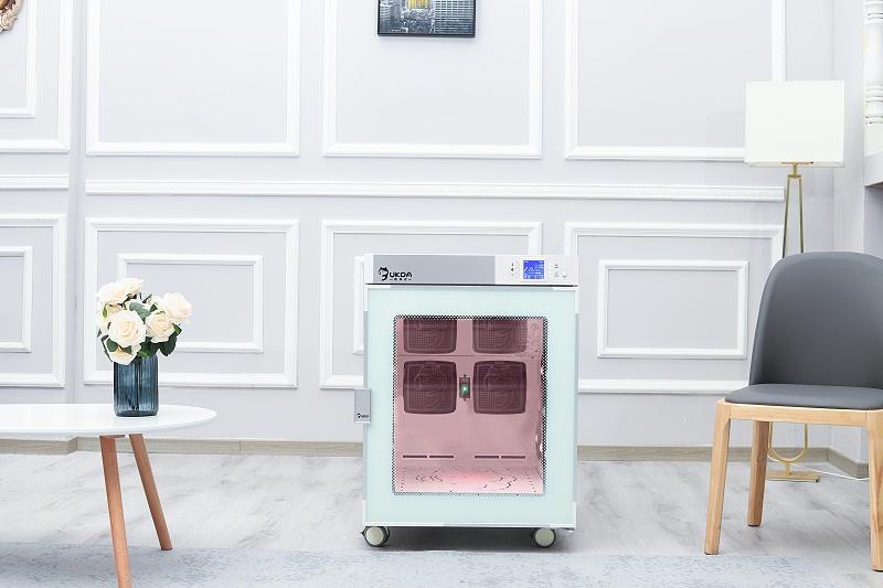 欧科达宠物烘干箱丨狗狗抗拒吹干?试了100种办法,还是它管用!
