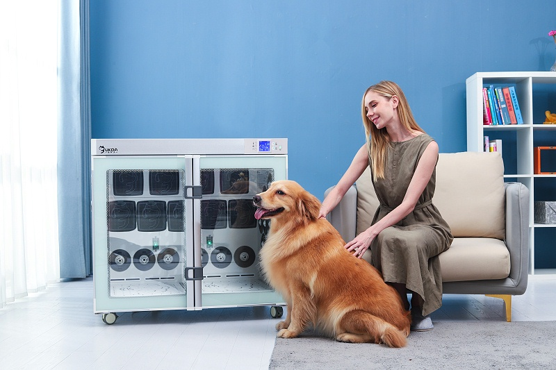 种草丨欧科达宠物烘干箱,解放你的双手,狗狗洗澡必备!