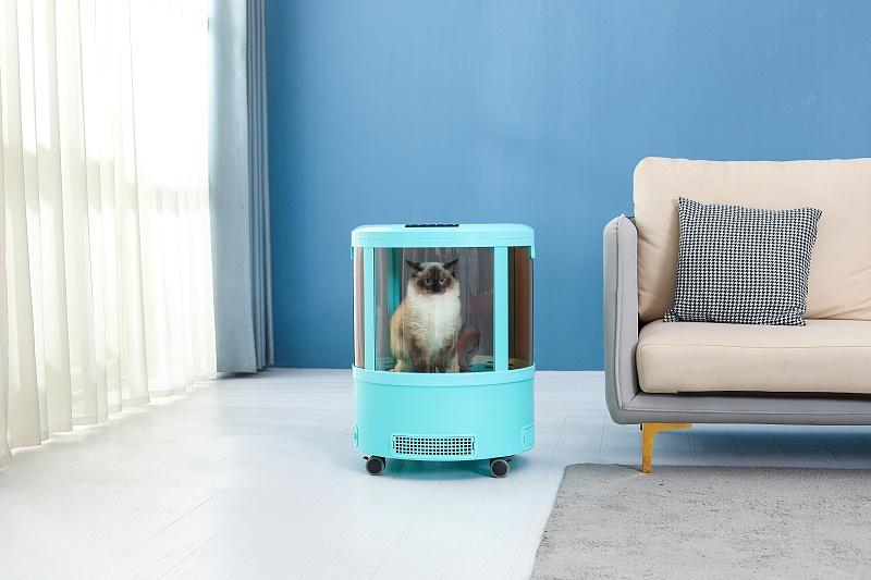 智能宠物烘干箱,静音恒温,有它再也不怕给毛孩吹干!