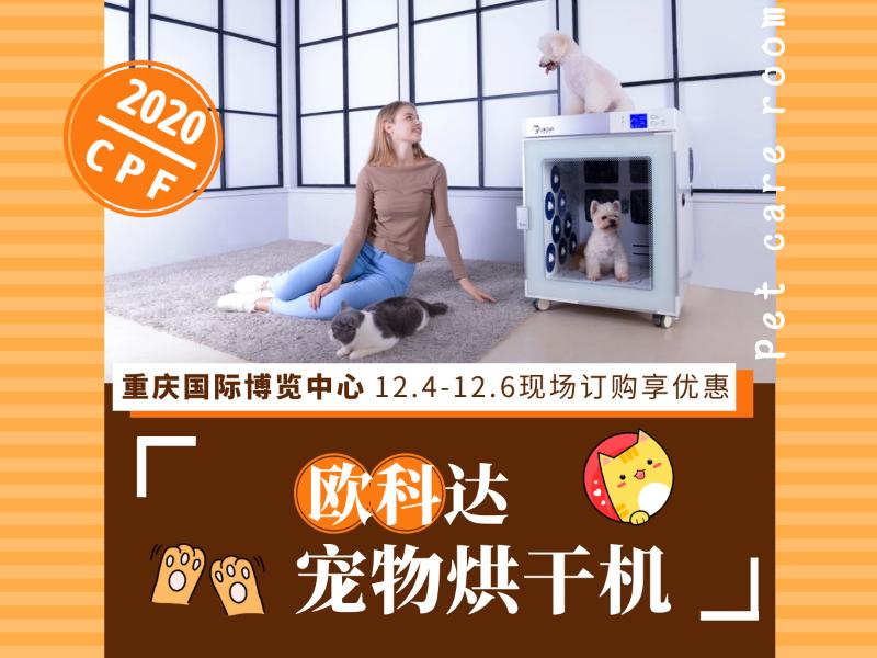 2020CPF重庆展 欧科达宠物烘干机
